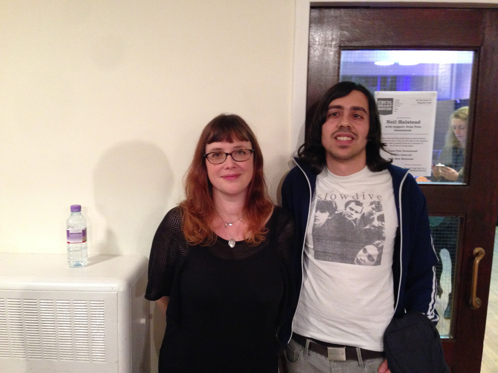 Me + Rachel Goswell @ Cecil Sharp's House, London